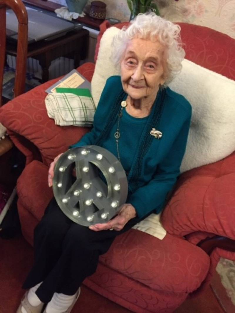 Betty Tebbs's 97th birthday