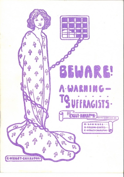 suffragists pamphlet
