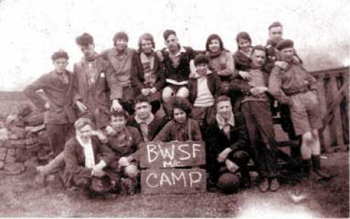 British Workers Sports Federation Manchester camp : Group photograph