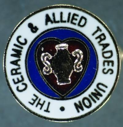 Ceramic and Allied Trades Union badge