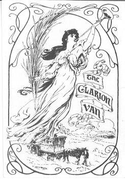Clarion Van : Postcard  from 1913