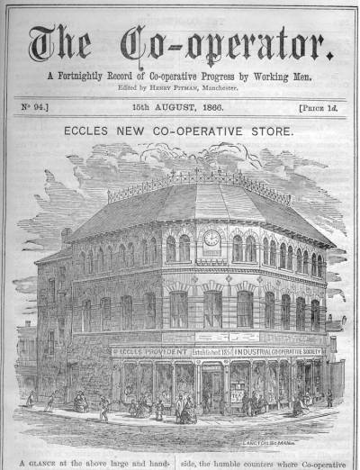 Front cover of The Co-operator, 15 August 1866