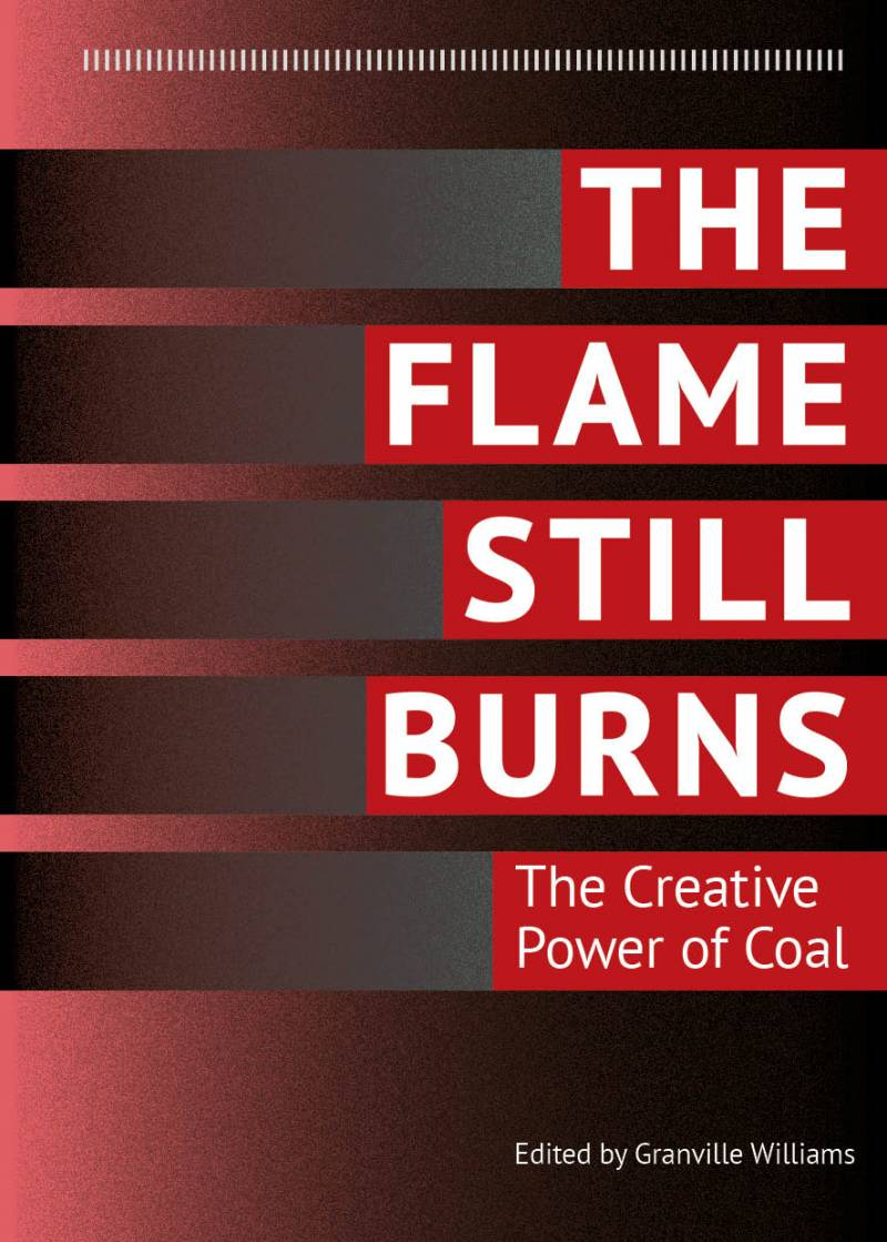 Flame still burns front cover