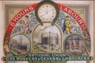 Framed/334 - gas workers' emblem : Part of the Gas workers and General Labourers' Union emblem