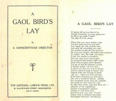 Gaol Bird s Lay