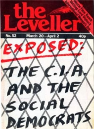 Leveller No. 52 cover : The CIA and the Social Democrats