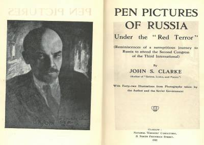 Pen pictures title page