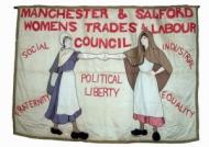 Women's trades council banner