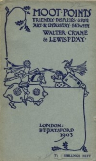 Cover of book Moot Points by Walter Crane and Lewis P Day