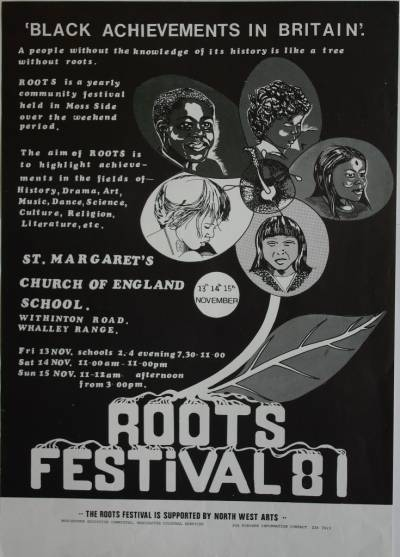 Poster for the Roots Festival 81