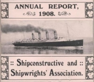 Shipwrights' Association Annual Report front page