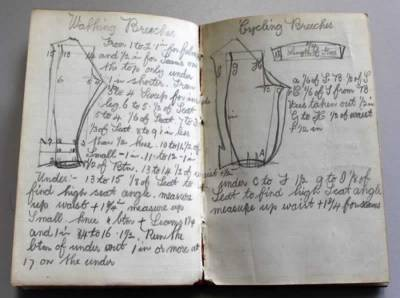 Pages from a tailor's notebook
