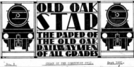Header from Old Oak star: the paper of the Old Oak railwaymen of all grades