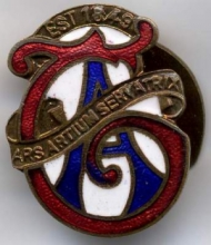 Typographical Association badge
