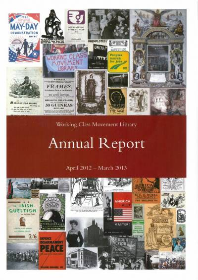 Cover of the WCML annual report 2012-2013