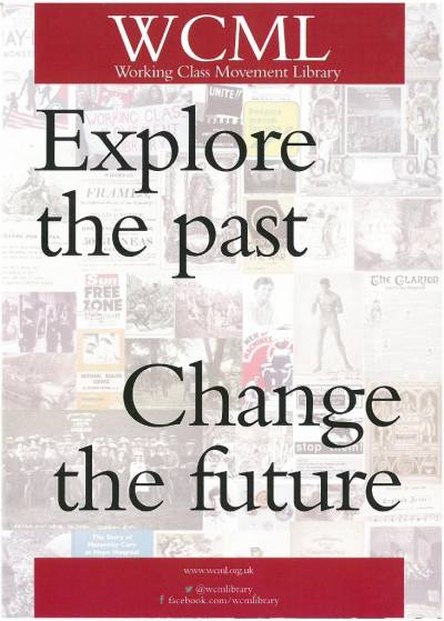 Explore the past Change the future leaflet