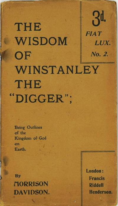 Cover of The Wisdom of Winstanley the Digger