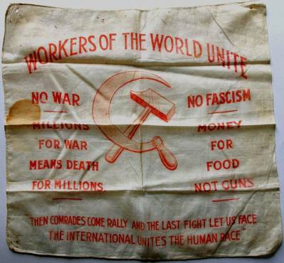 Workers of the World Unite handkerchief